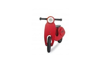 Figurines personnages Simply Kids Scooter draisienne rouge 2 roues en bois