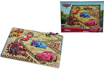 Puzzles Eichhorn Eichhorn - 100003287 - puzzle ? buttons - disney - cars 2 en bois - 10 pi?ces