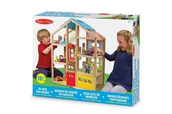 Jeux d'imitation MELISSA & DOUG Maison de poupée melissa & doug en hauteur en bois