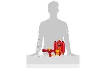 Jouets éducatifs KLEIN - 8932 - jeu d'imitation - lance à incendie avec réservoir à eau dorsal