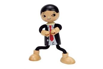Doudou Hape Hape maison de poupée en bois père poupée 12 cm noir