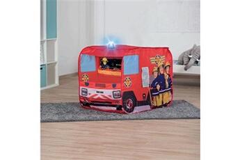 Tout pour la fête GENERIQUE Tente de jeu pompier sam avec sirene