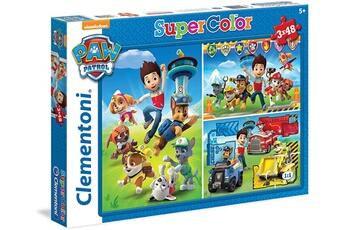 Puzzles Paw Patrol Clementoni - paw patrol 25209 puzzle 3 x 48 pièces