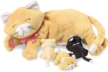Peluches Manhattan Toy Jouet d'allaitement nina cat nurturing toy de manhattan toy