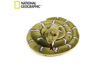 Peluches National Geographics National geographics grand animal en peluche naturel serpent taille m