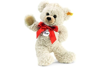 Peluches Steiff Steiff - 111556 - peluche - ours teddy-pantin lilly - crème