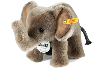 Peluches Steiff Steiff - 64487 - peluche - éléphant trampili - gris