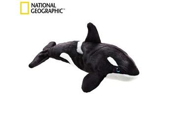 Peluches National Geographic National geographic par lelly 40 cm tueur ocean whale jouet en peluche (naturel)