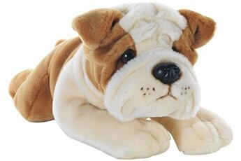Peluches Plush & Company Plush & company - 05926 - peluche - ringhio chien bulldog allongé - 40 cm