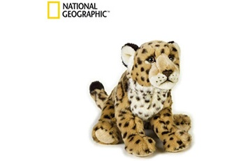 Peluches National Geographics Geographics national jaguar animaux en peluche jouet en peluche (taille moyenne, naturel)