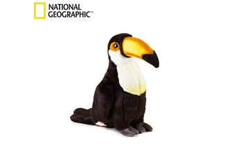 Peluches National Geographics Geographics national tucano animaux en peluche jouet en peluche (taille moyenne, naturel)
