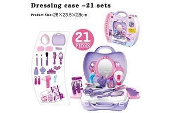 Jouets éducatifs Generic Be star beauty maquillage sac à bandoulière enfants mini playset dollhouse enfants jouets @suoupasora11413