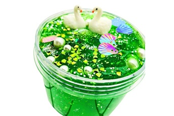 Poupées Generic Ocean whale puff slime putty scented stress kids clay crystal mud toy 200ml vinwo1203