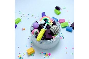 Jouets éducatifs AUCUNE Rainbow charms clear slime belle couleur lollipop kids relief stress toy zsd81220135wh