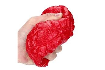 Jouets éducatifs Generic Nouveauté silicone stress ball effrayant organe brain squeeze jouet anti-stress jouet vinwo3698
