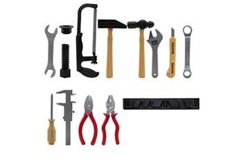 Jouets éducatifs AUCUNE 1 x x kits d'outils de construction en plastique ensemble jouets éducatifs de construction de bricolage pour enfants - comme montré617