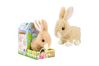 Jouets éducatifs GENERIQUE Cute walking pet rabbit electric toy soft gift plush rabbit for kids