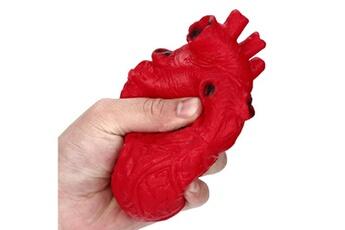 Jouets éducatifs Generic Nouveauté silicone stress ball effrayant organe coeur squeeze jouet anti-stress jouet vinwo4281