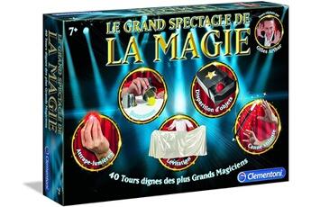 Jeux en famille CLEMENTONI Le grand spectacle de la magie