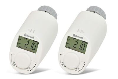 Accessoires chauffage central Eq-3 Pack de 2 têtes thermostatiques pour radiateur avec bluetooth - eq-3