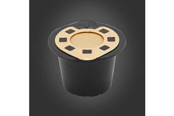 Ustensile De Cuisine Generic Dosettes Reutilisables Rechargeables De Capsules De Cafe Pour Le Filtre De Machines Nespresso Tool1257 Darty