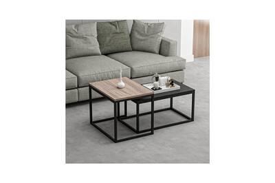 Table Basse Home Mania Homemania Table Basse Leka Compacte