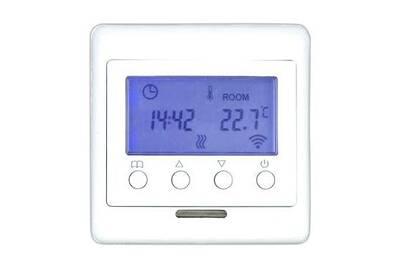 Accessoires chauffage central Tkb Home Thermostat z-wave + pour chauffage au sol avec écran lcd - tkb home