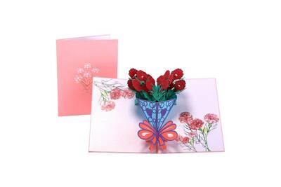 Accessoire Bureautique Generic Cartes De Voeux Romantiques 3d Popup Carrousel Joyeux Anniversaire Fete Des Meres Merci Cadeau Vinwo4074 Darty