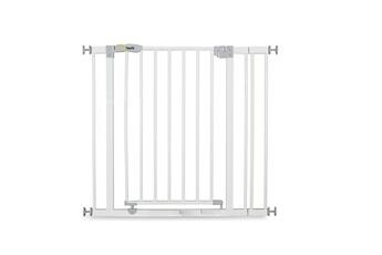 Barrière de sécurité bébé Hauck Barrière de sécurité open n stop + 9 cm extension - white