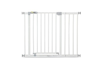Barrière de sécurité bébé Hauck Barrière de sécurité open n stop + 21 cm extension - white