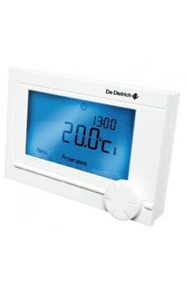 Thermostat et programmateur de chauffage Thermostat d'ambiance filaire modulant programmable ad 304 de dietrich De Dietrich