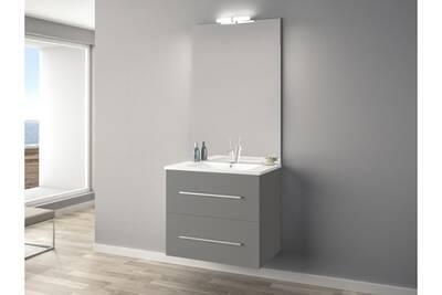 Meuble salle de bain anconetti ensemble meuble ancoflash 2 - Meuble salle de bain 70 cm largeur ...