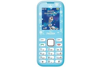 Autres jeux créatifs Lexibook Lexibook disney frozen la reine des neiges elsa téléphone portable 2g, double sim, radio fm, batterie rechargeable , bleu/blanc, gsm20fz