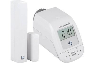 Accessoires maison connectée Homematic Kit de démarrage chauffage avec vanne et détecteur - homematic ip