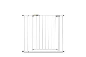 Barrière de sécurité bébé Hauck Barrière de sécurité stop n safe 2 + extension 9 cm - blanc