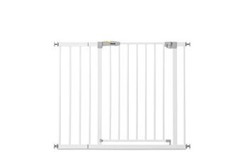 Barrière de sécurité bébé Hauck Barrière de sécurité stop n safe 2 + extension 21 cm - blanc