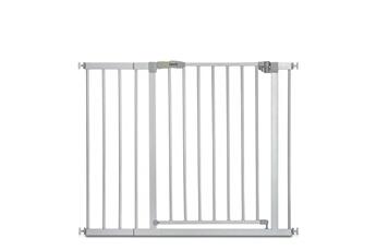 Barrière de sécurité bébé Hauck Barrière de sécurité stop n safe 2 + extension 21 cm - gris