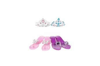 Accessoires de déguisement AUCUNE Amscan - set d'accessoires princesse - diademe et souliers