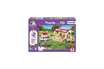 Puzzles Schmidt Spiele Schmidt spiele puzzle école d?équitation et vétérinaire - 150 pieces