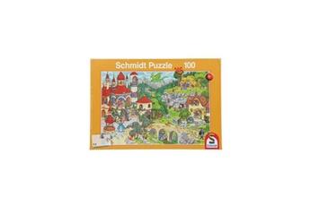 Puzzles Schmidt Spiele Schmidt spiele puzzle au pays des contes de fées - 100 pieces