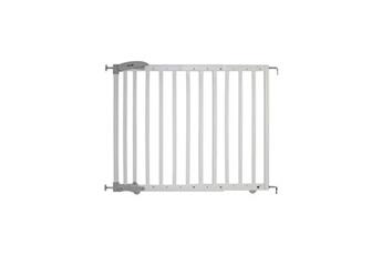 Barrière de sécurité bébé SAFETY 1ST Barriere dual install extending wood white wood