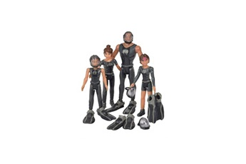Figurines personnages Simba . Dickie . Group Sous les mers smoby famille nekton coffret