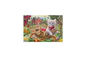 Puzzles Schmidt Spiele Schmidt spiele puzzle chaton dans le jardin - 150 pieces