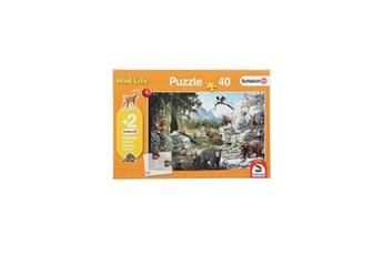 Puzzles Schmidt Spiele Schmidt spiele puzzle les animaux de la foret - 40 pieces