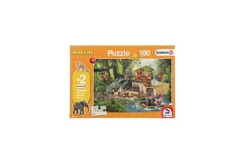 Puzzles Schmidt Spiele Schmidt spiele puzzle station de recherche de croco - 100 pieces