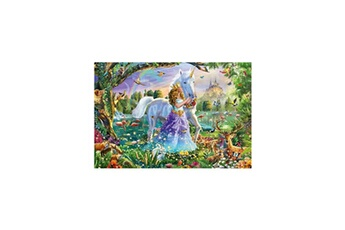 Puzzles Schmidt Spiele Schmidt spiele puzzle princesse avec licorne et château - 150 pieces