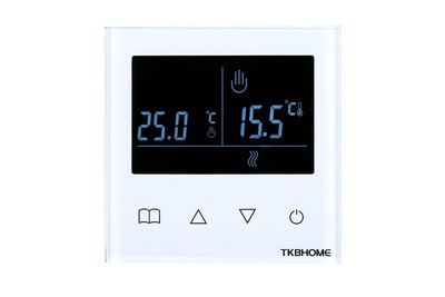 Accessoires chauffage central Tkb Home Thermostat mural connecté z-wave - tkb home