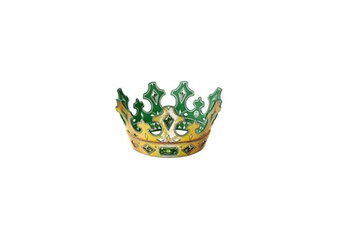 Accessoires de déguisement AUCUNE Liontouch couronne roi emeraude
