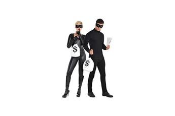 Accessoires de déguisement Amscan Amscan kit cambrioleur - masque, gant, sac d'argent