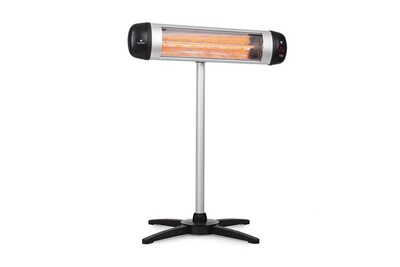 Parasol chauffant Blumfeldt Rising sun chauffage d'appoint infrarouge 850 / 1650 / 2500 w aluminium